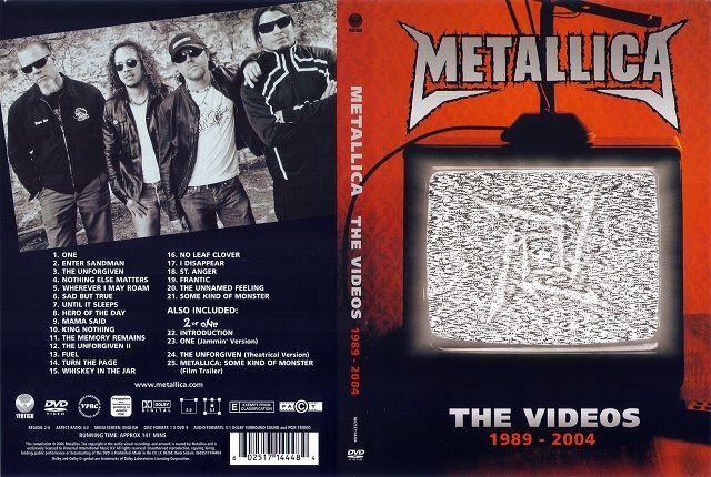 METALLICA w artykule KULTOWA GODZINA WE WTOREK: DVD METALLICA - THE VIDEOS 1989-2004 MOŻE BYĆ WASZE!