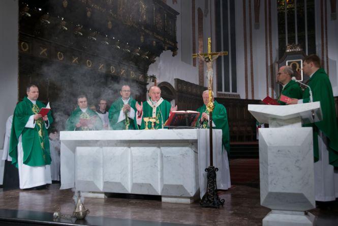 Msza św. w Archikatedrze