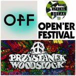 Nowe gwiazdy festiwali: Woodstock, Open'er, OFF, Power Festiwal i Enea - wszystkie nowe ogłoszenia