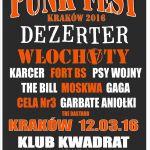 Punk Fest 2016 w Krakowie: data, BILETY, artyści. Sprawdź, kiedy festiwal i kto wystąpi!