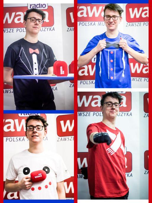 Wygraj karnawałowe koszulki Radia WAWA
