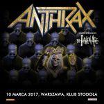 Anthrax w Polsce 2017: setlistę ułożą fani