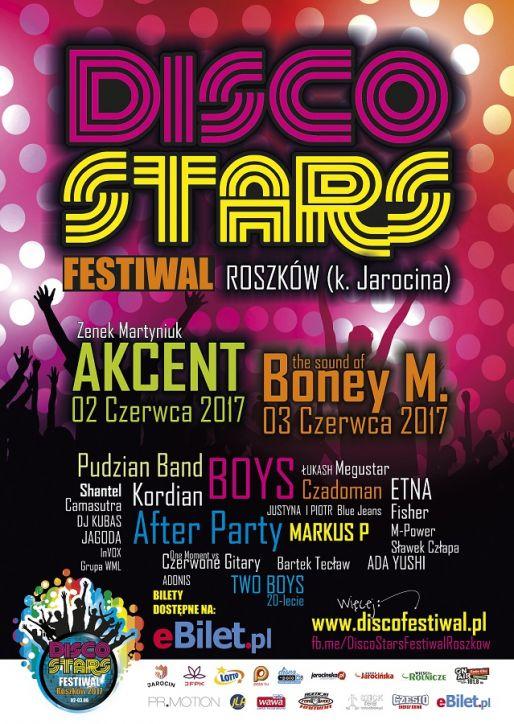 Zapraszamy na jedną z największych Imprez Południowej Wielkopolski – Disco Stars Festiwal Roszków 2017