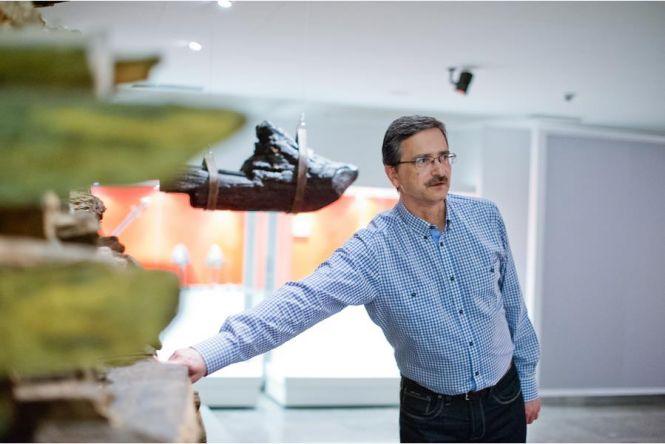 Tomasz Janiak oprowadza po wystawie