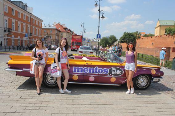 Bawimy się z Mentos Say Hello!