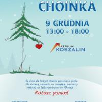 Pusta Choinka 9 grudnia w Koszalinie