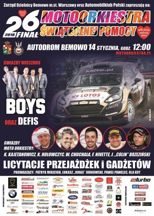 Impreza charytatywna na rzecz fundacji WOŚP, organizowana przez Automobilklub Polski