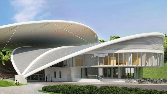 Tak po przebudowie ma wyglądać koszaliński amfiteatr. Koniec prac w sierpniu 2021 roku.