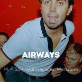 Airways na pierwszym solowym koncercie w Polsce! Bilety, data, miejsca