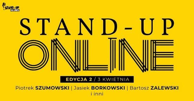 STAND-UP ONLINE w artykule STAND-UP ONLINE 03.04.20 - KOLEJNA EDYCJA WYJĄTKOWEGO WYDARZENIA