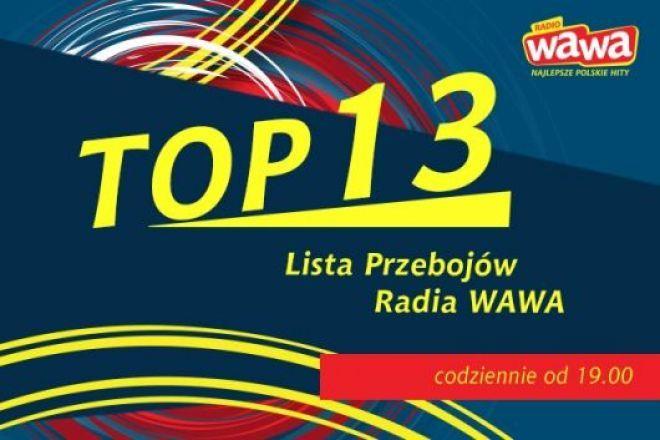 TOP13 Radia WAWA to lista przebojów najpopularniejszych polskich utworów