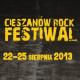 Cieszanów Rock Festiwal 2013, FESTIWAL CIESZANÓW, Cieszanów, Cieszanów