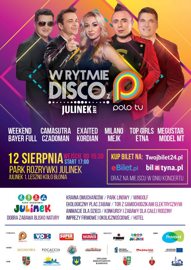 W Rytmie Disco z POLO TV | Julinek 2017