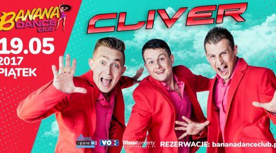 Cliver w Banana Dance Club we Wrocławiu | 19.05.2017