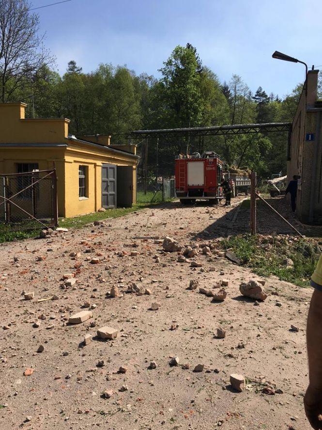 Wybuch w farbryce prochu strzelniczego na Dolnym Śląsku